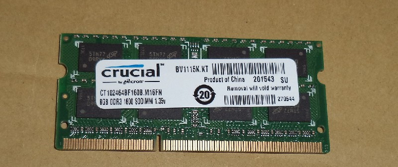 "СКД ПК ""DDR3 SO DIMM 8192MB 1600MHZ"""
